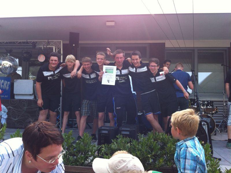 Völkerball Jugendmannschaft