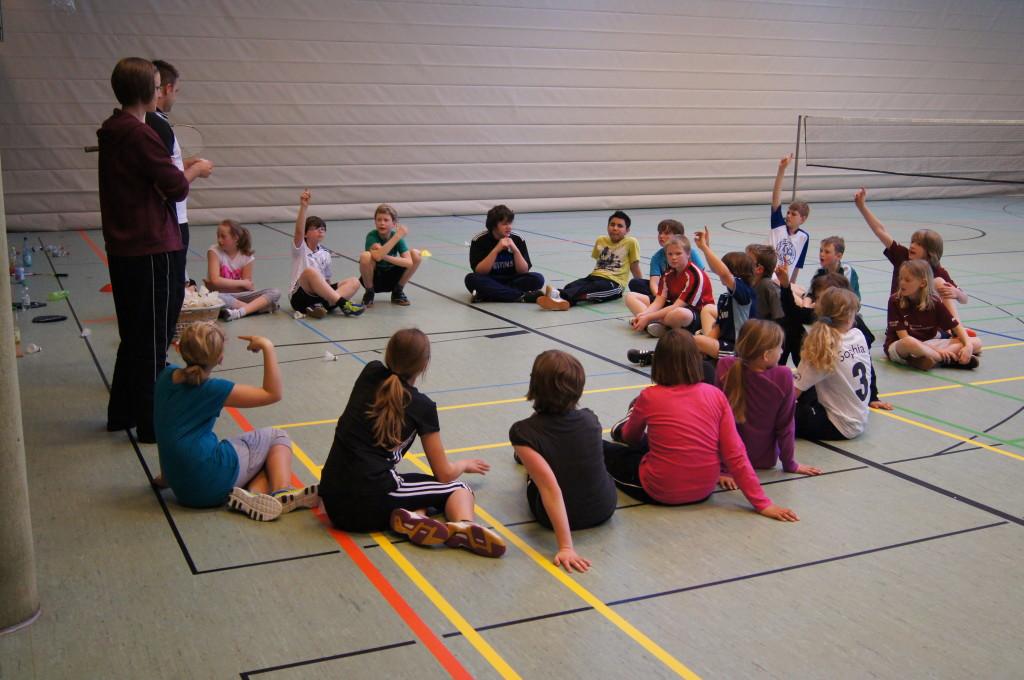 Training der Einstiegsgruppe