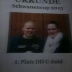 Schwanencup Urkunde