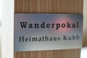 Wanderpokal - Heimathaus Kubb