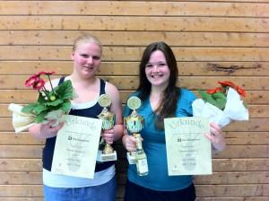 Eva Ostgathe und Judith Tacke - 1. Platz beim 18. Stauseepokal in Haltern