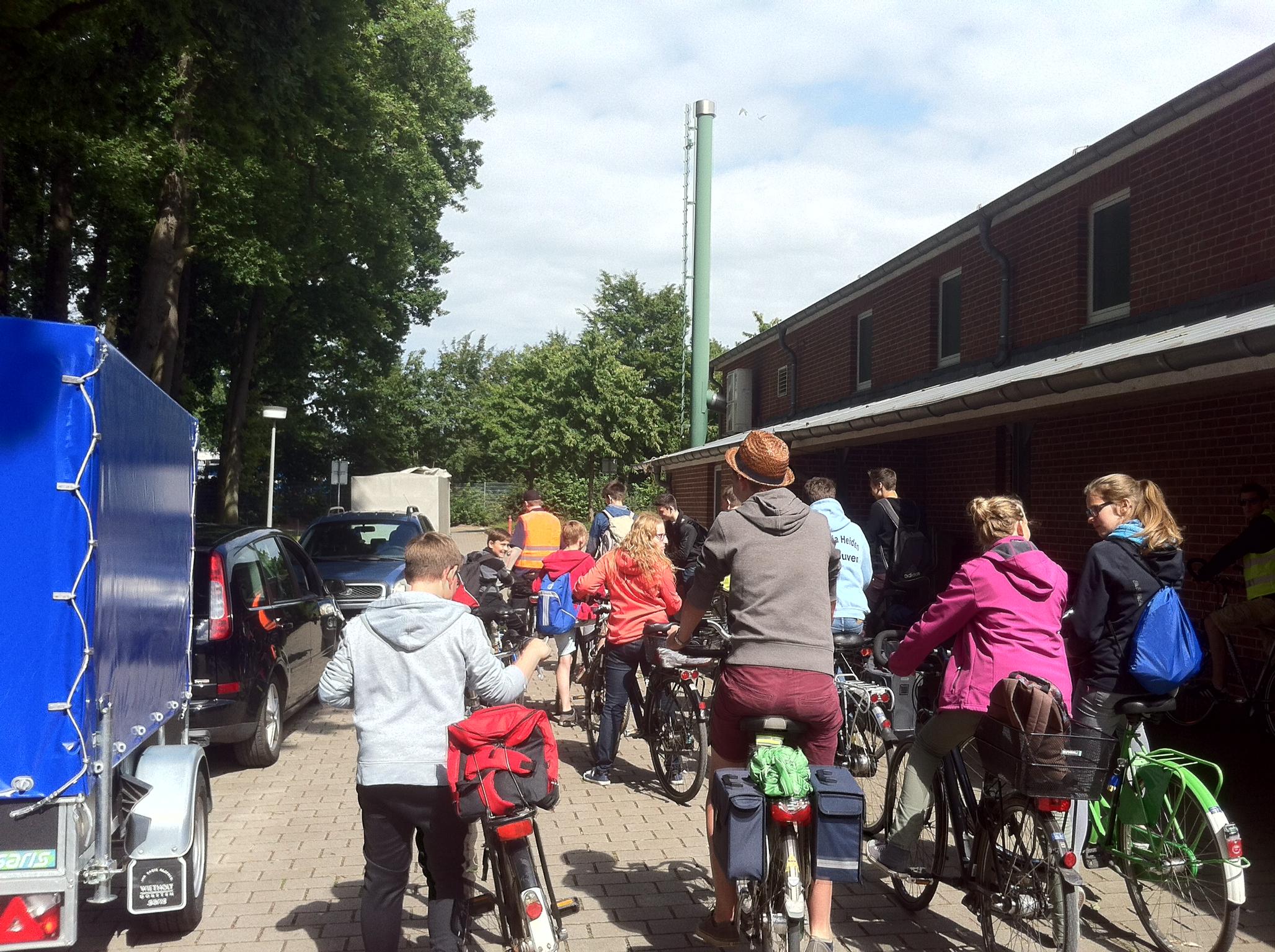 Zeltlager Fahrradtour