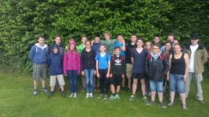 Gruppenfoto Zeltlager
